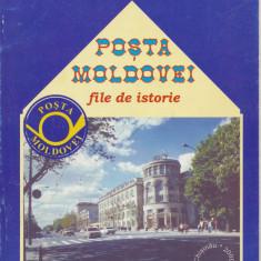 Carte filatelie D. Postarencu 2000 Posta Moldovei - editat Basarabia bilingva