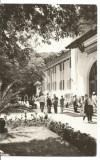 Carte postala(ilustrata)-VALCEA-GOVORA -Pavilionul bailor, Circulata, Fotografie