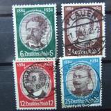 1934 GERMANIA REICH SERIE STAMPILATA COTA 42 $, Nestampilat