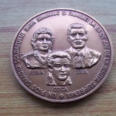 medalie Glorie Vesnica Asociatia Cultul Eroilor familia Siminiuc