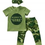 Set 3 piese Daddys Girl, Marime: 3-6 luni, 9-12 luni, 12-18 luni, 1-2 ani