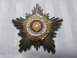 ORDINUL STEAUA ROMANIEI - CLASA a -III- a - STARE BUNA