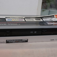 DVD recorder cu HDD Pioneer DVR-550H Jukebox cu HDMI - DVD Recordere Pioneer, DVD RW