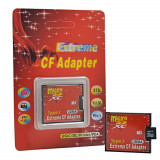 Adaptor Micro SD TF la CF Card / MicroSD Micro SDHC la Compact Flash Type I
