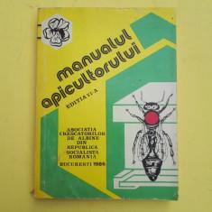 MANUALUL APICULTORULUI = ASOCIATIA CRESCATORILOR DE ALBINEN = AN 1986