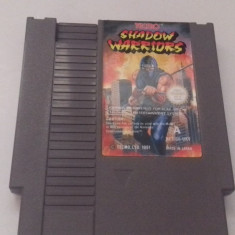 Shadow Warriors  - NES - Nintendo Entertainment System [Second hand], Actiune, 3+, Multiplayer