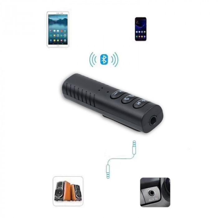 Receiver, Receptor Audio Bluetooth Auto Aux 3.5mm jack Hands free Receiver Music