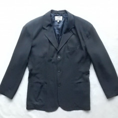 Sacou Armani Jeans Made in Italy. Marime 52, vezi dimensiuni; impecabil, ca nou - Sacou barbati, Culoare: Din imagine