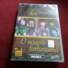 DVD O NOAPTE FURTUNOASA - Teatru, Romana