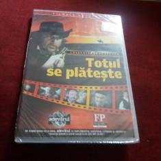 FILM DVD  TOTUL SE PLATESTE, Romana