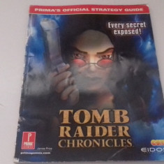 Tomb Raider Chronicles - STRATEGY GUIDE