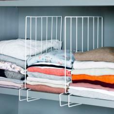 2 separatoare pentru rafturi cu haine - Lada Frigorifica