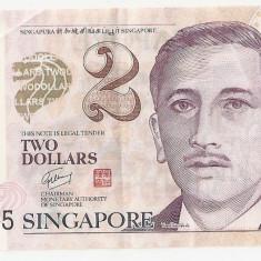 SINGAPORE 2 DOLARI POLIMER ND F