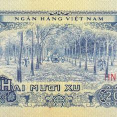 VIETNAM 20 xu 1966 AUNC!!! - bancnota asia