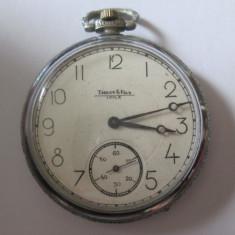 Ceas de buzunar elvetian marca Tissot-Locle 15/2 adjts.din anii 20 nefunctional