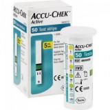 Teste glicemie Accu Chek Active sigilate + 25 ace întepatoare