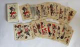 Joc carti Schwarzer Peter, vintage, ilustratii frumoase, complet, Piatnik