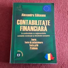 Contabilitatea financiara - Alexandru Salceanu - Carte Contabilitate
