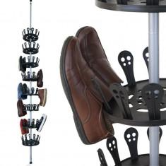 Suport telescopic tip carusel 48 perechi pantofi