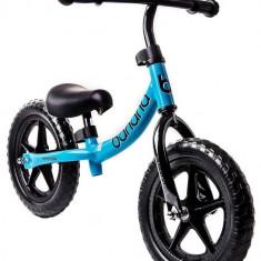 Bicicleta Banana fara pedale albastra - Bicicleta copii