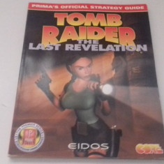 Tomb Raider - The last revelation - STRATEGY GUIDE