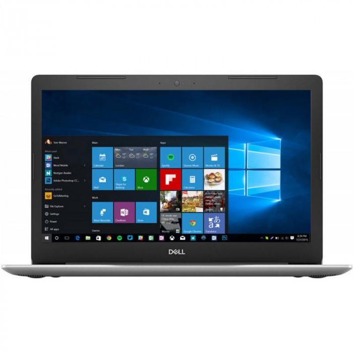 Laptop Dell Inspiron 5570 15.6 inch FHD Intel Core i5-8250U 8GB DDR4 256GB SSD AMD Radeon 530 4GB Windows 10 Home Platinum Silver 3Yr CIS foto mare