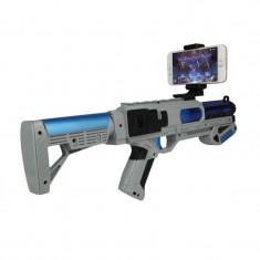 Pistol AR Shooting Gun joystick bluetooth pentru smartphone Android iOS, Controller