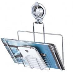 Suport de perete cu ventuza pentru telefon; tableta; revista Sakura - Lumini club