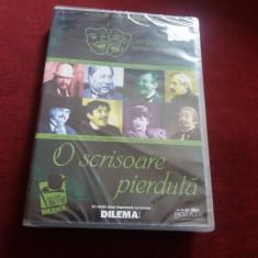 DVD O SCRISOARE PIERDUTA - Teatru, Romana