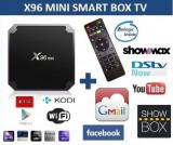 Ini PC TV Box X96 mini , Media player , 4K , Quad-Core Arm Cortex Amlogic