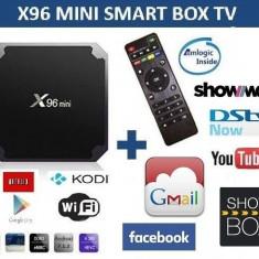 Ini PC TV Box X96 mini, Media player, 4K, Quad-Core Arm Cortex Amlogic