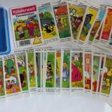 Joc carti Kinderwelt Tiermarchen, basme, vintage, lb germana, Piatnik, complet