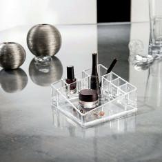 Suport acrilic organizare cosmetice
