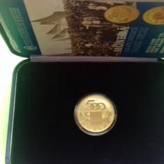 Moneda BNR Aur 500 lei 2008 - Moneda Romania
