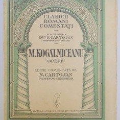 OPERE. M. KOGALNICEANU - Roman