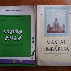 Lot 2 manuale de limba rusa / R4P2S