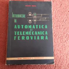 Introducere in automatica si telemecanica feroviara - Marius Maris