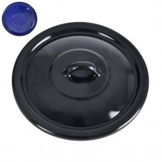 Capac emailat negru-diametru 28 cm - Plita pe gaz
