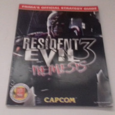 Resident Evil 3 NEMESIS - STRATEGY GUIDE