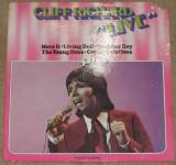 Vinyl/vinil Cliff Richard – Live ,Gatefold,Belgium 1976,dsic VG