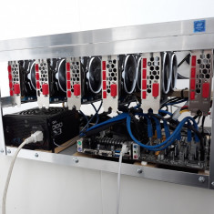Mining rig 6x AMD Radeon RX 570