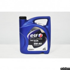 ELF EVOLUTION SXR 5W-40- 4L ELF 24039 - Ulei motor