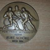 Fur Treue Mitarbeit Herrn Kurt Schorg  Wien 1994, Europa