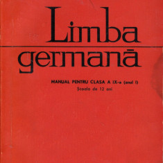 Limba germană clasa a IX-a Anul I, didactica si pedagogica
