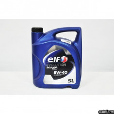 ELF EVOLUTION 900 NF 5W-40- 5L ELF 25262 - Ulei motor