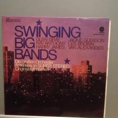 SWINGING BIG BANDS - Harry James/Glen Gray (1978/EMI/RFG) - Vinil/Impecabil(NM) - Muzica Jazz emi records