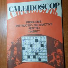 revista caleidoscop  1978-rebus,stiri,umor,istorie,filatelie,curiozitati