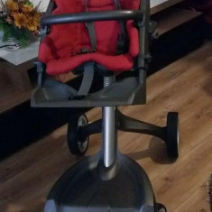 Stokke V2 Explory 2 in 1, Rosu