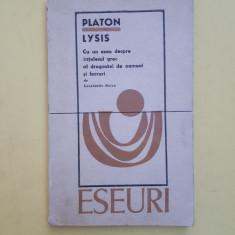 LYSIS ^ PLATON