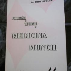 Prioritati si tendinte in Medicina Muncii - dr. Didi Surcel